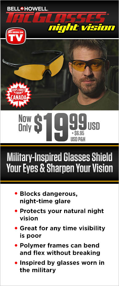 Order Night Vision Tac Glasses Canada Now!